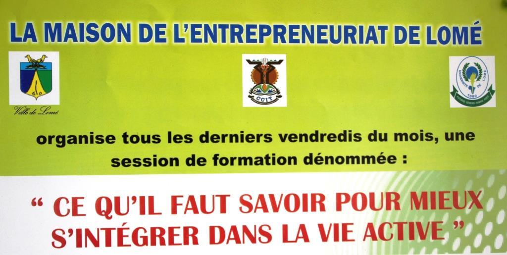 La maison de l'entreprenariat de Lomé