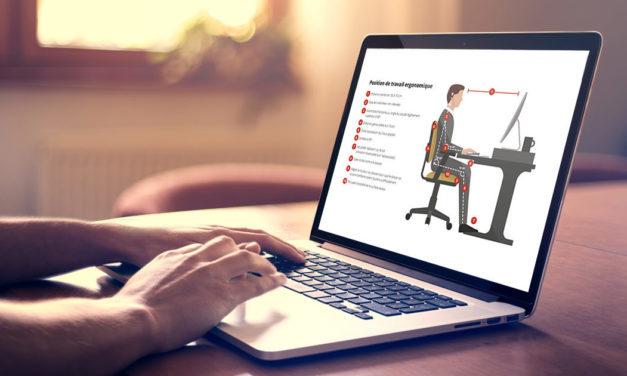 Les maux de dos causés par le travail sur ordinateur